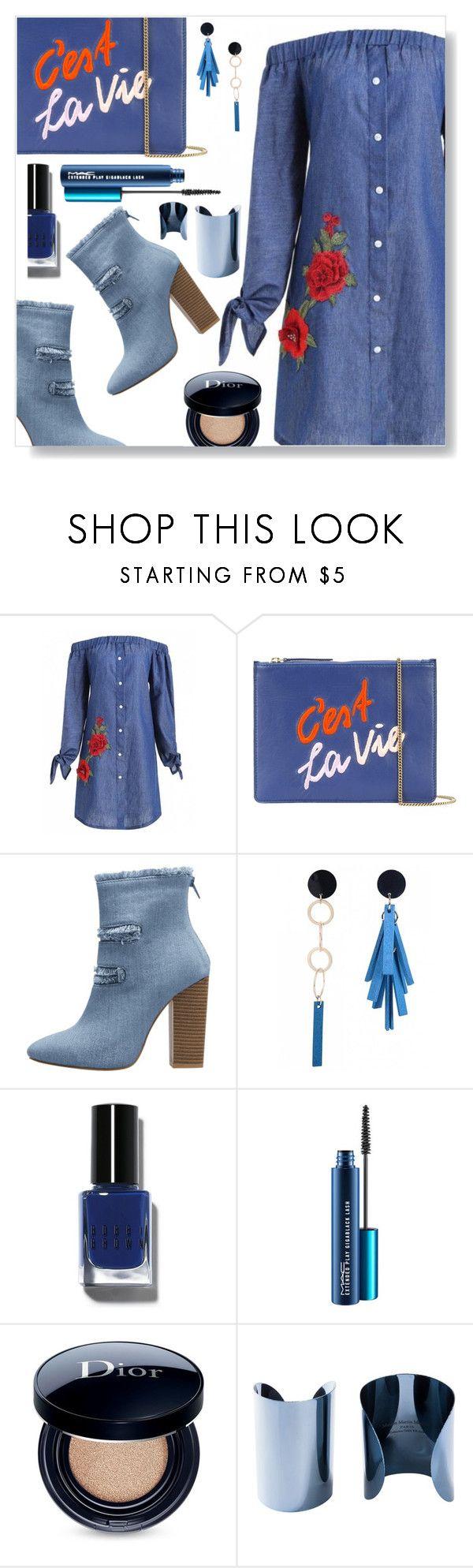 """C'est la vie ...."" by simona-altobelli ❤ liked on Polyvore featuring Lizzie Fortunato, Bobbi Brown Cosmetics, Christian Dior and Maison Margiela"