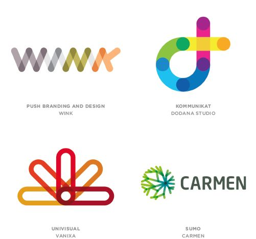 "<p>Online logo database LogoLounge published its 2014 trend report for logo design, showcasing some of the most popular techniques used this year. According to them, this report is meant to ""to share"