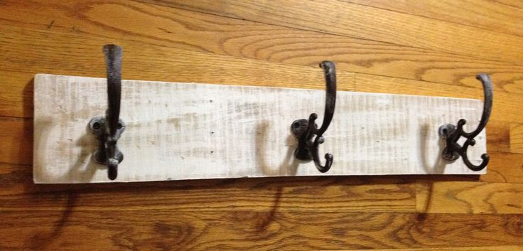 HandMade Pallet Wood Coat Rack