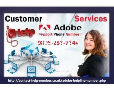 Adobe Support Number UK