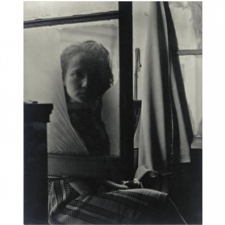 Jacques-André Boiffard (1902-1961).  UNTITLED (WOMAN AT WINDOW), 1930S, Silver Print.