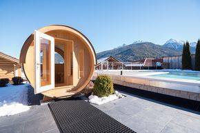 ALPIN PANORAMA HOTEL HUBERTUS****S Neue Fassl-Textilsauna!  #leadingsparesorts #wellness #sauna #new #südtirol #wellnesshotel #wellnessurlaub #entspannen #spa