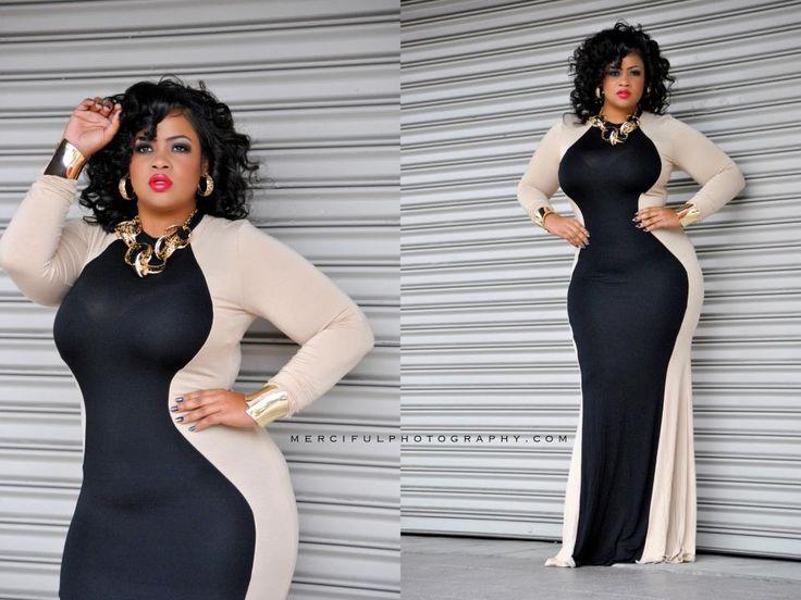 448 best Curvy & Chic - Plus Size Fashion images on Pinterest