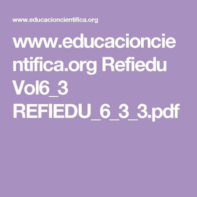 www.educacioncientifica.org Refiedu Vol6_3 REFIEDU_6_3_3.pdf