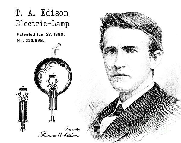thomas edison inventor or patent thief His total number of inventions put him just ahead of thomas edison, who had 1,093 patents to his name in recognition of mr fischer's work, the european patent office gave him a lifetime.