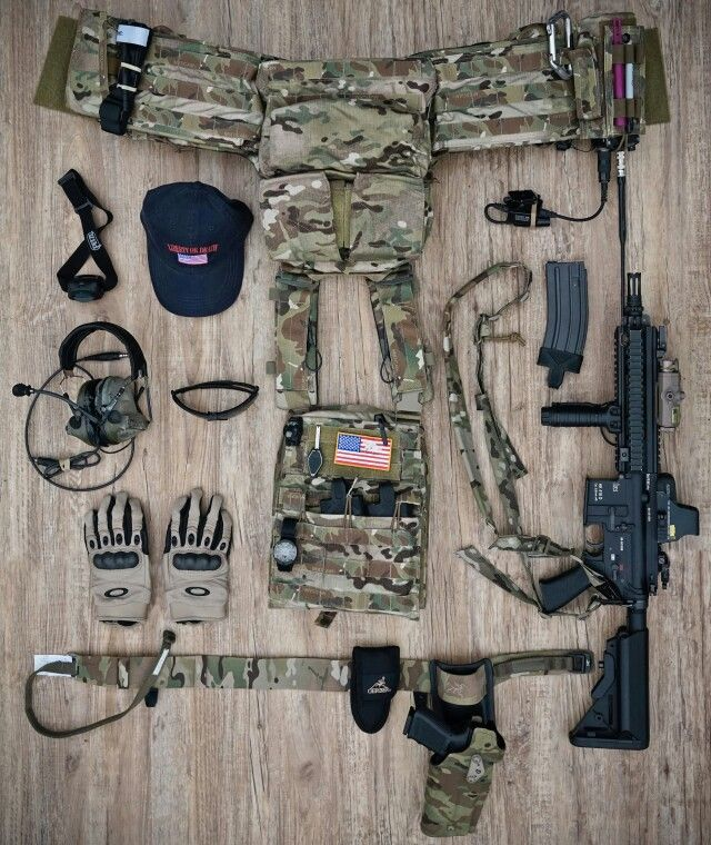 Looks Like A Ranger Stalker Load Out But Most Likely Just