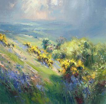 Caroline Saunders talks to landscape artist Rex Preston