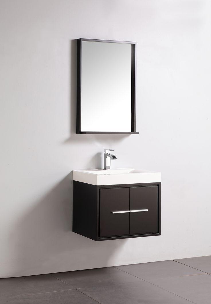 Photo Album Website  ucwall hang espresso bathroom vanity with sliver mirror