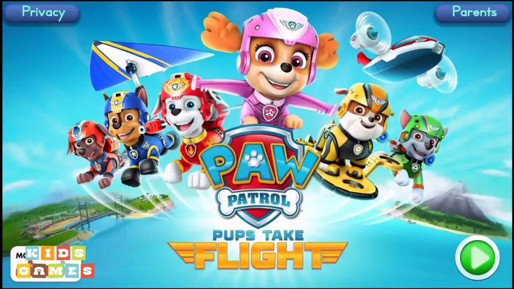 Nickelodeon Games to play online 2017 ♫Paw Patrol Pups Take Flight Episode 4♫ Kids Games