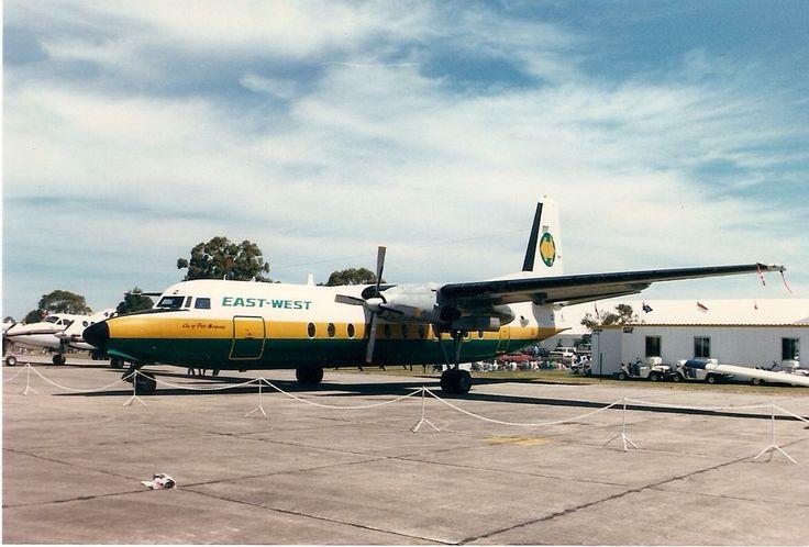 East West Fokker F27-500 (VH-EWZ)