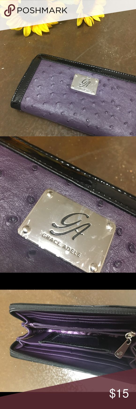 Grace Adele wallet Purple Grace Adele wallet Grace Adele Bags Wallets