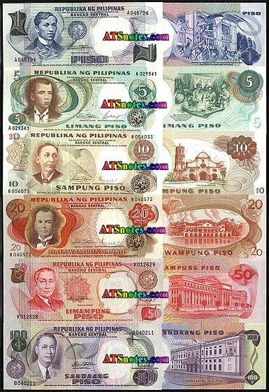 philipines currency | banknotes - Philippines paper money catalog and Philippine currency ...