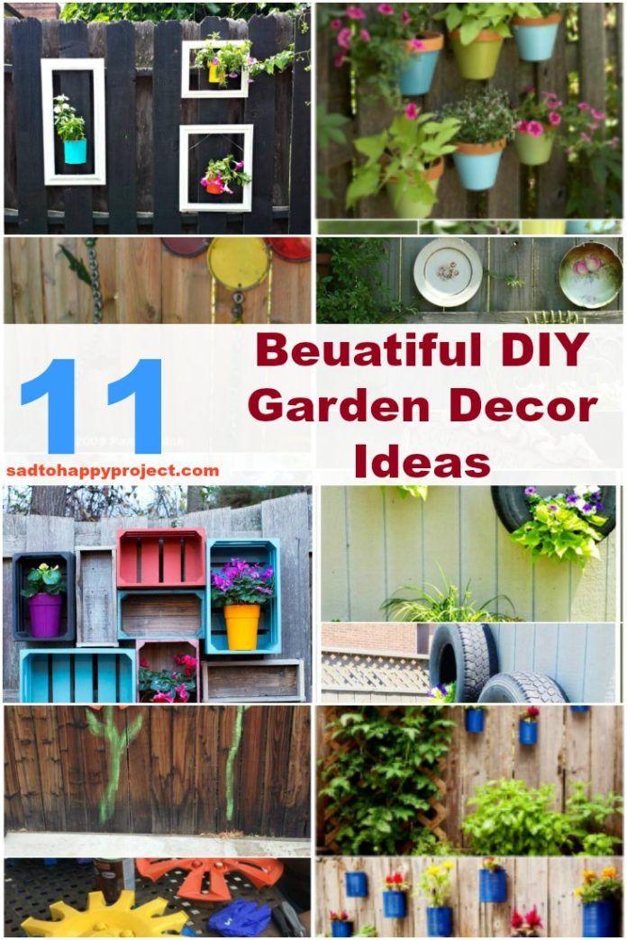 11 Diy Backyard Decoration Ideas Make Your Garden Unique With