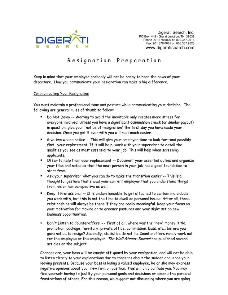 Heartfelt Resignation Letter To Boss How to write a