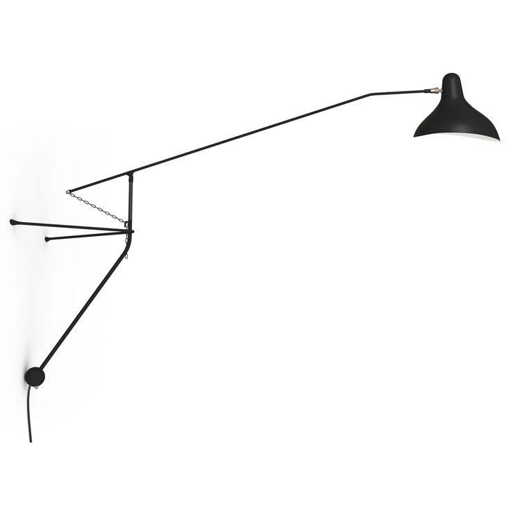 Mantis BS2 vägglampa, svart – Bernard Schottlander – Köp online på Rum21.se