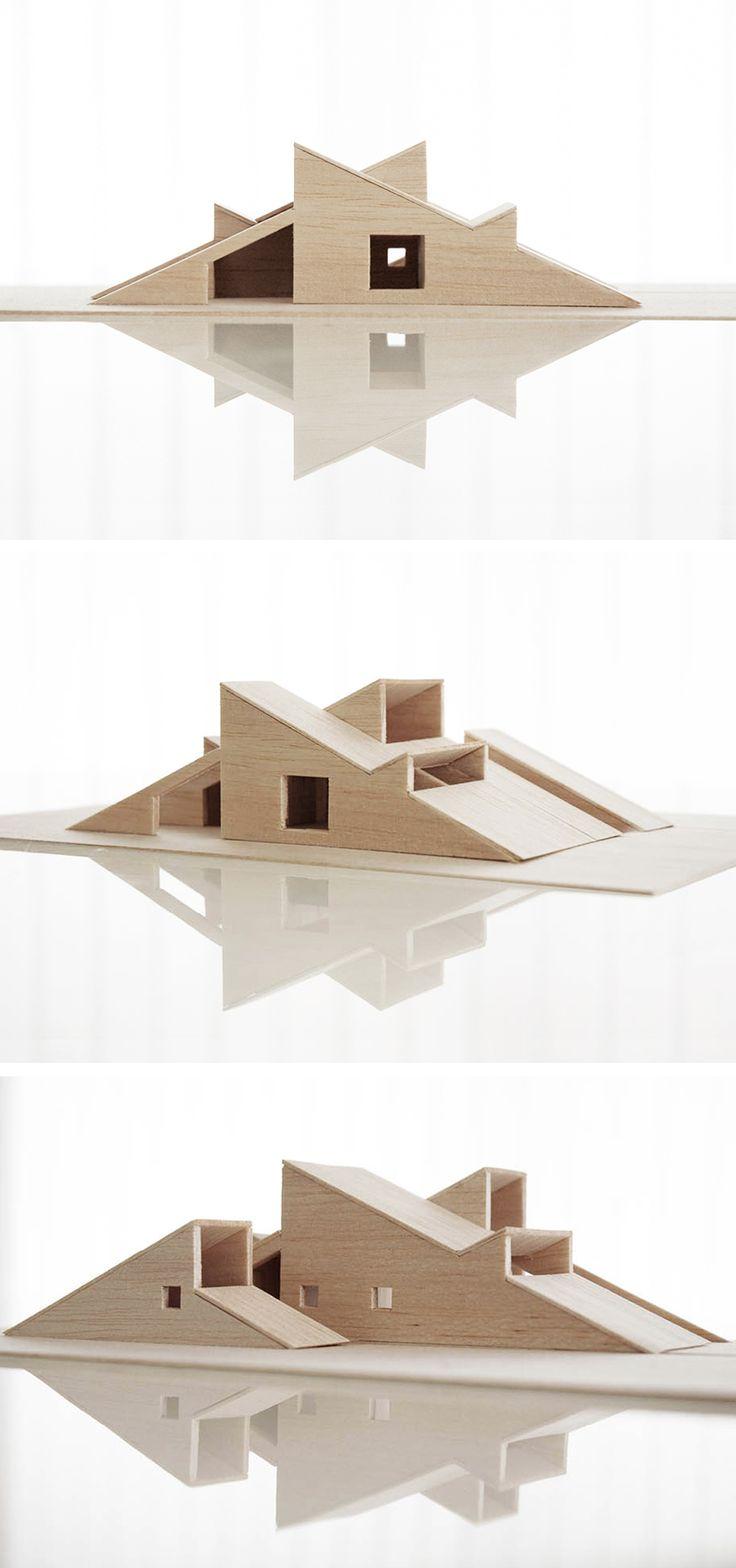 17 best ideas about architectural models maquette cabin vindheim by vardehaugen vardehaugen no instagram com
