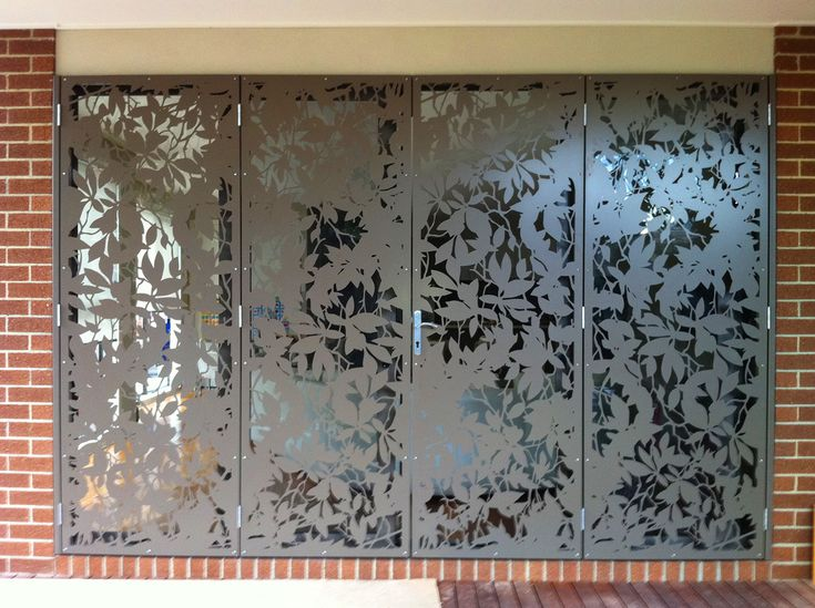 Security Doors Melbourne | Laser Cut Doors | Sliding Security Doors