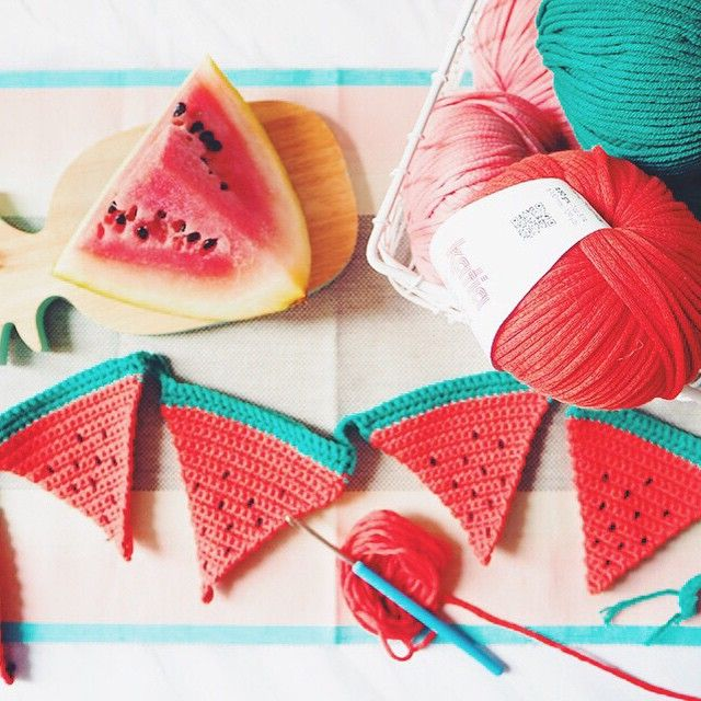 Watermelon crochet