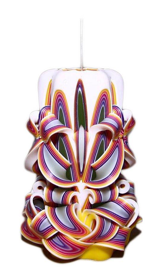 řezaná svíčka 12cm