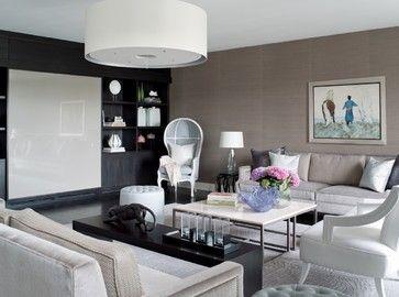 Lancelot Place, Knightsbridge - traditional - Living Room - London - Taylor Howes Designs