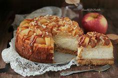cheesecake alle mele e caramello