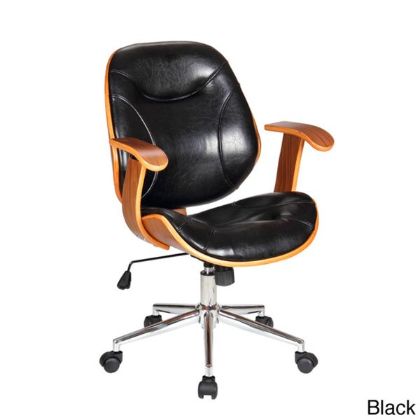 U0027Rigdomu0027 Stained Bentwood Upholstered Desk Chair Good Ideas