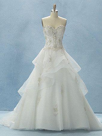 2012 Disney Fairy Tale Weddings Line from Alfred Angelo - Belle