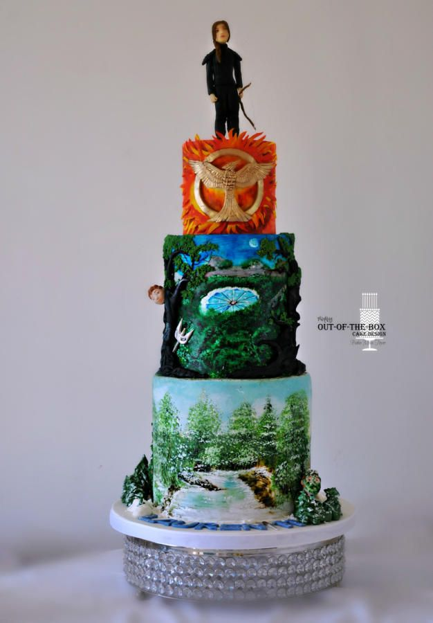 46 best Hunger Games Cakes images on Pinterest Hunger games cake
