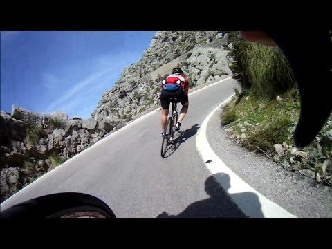 Mallorca Cycling Video for Indoor Training 60 Minute Full HD Drift Camera