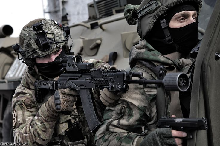 Operators from 604th Special Purpose Center Vityaz