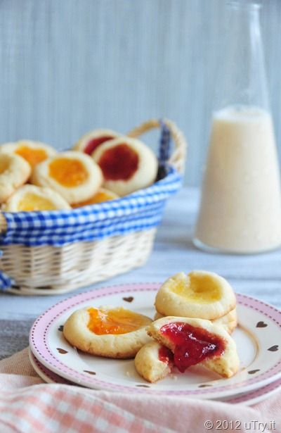 Lemon Scented Thumbprint CookiesFood And Drink, Yummy Recipe, Scented Thumbprint, Yummy Sweets, Thumbprint Cookies Fil, Thumbprint Cookies Perfect, Cookies Recipe, Cookies Juice, Lemon Scented