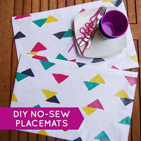 Placemat DIY Project 9