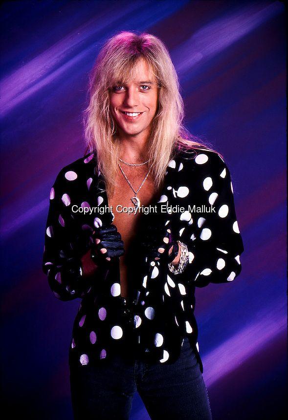 Jani Lane, Warrant;  Studio Portrait Session , Los Angeles , 1990<br /> Photo Credit: Eddie Malluk