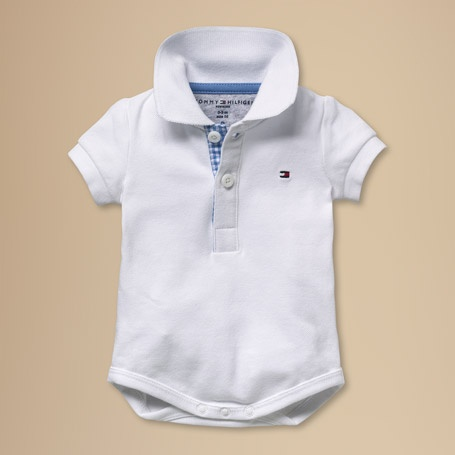 Tommy Hilfiger baby preppy body polo