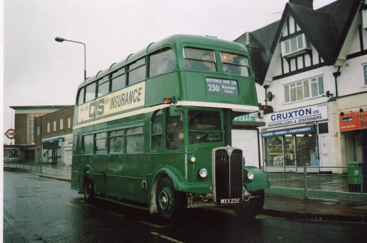 Old bus in Rayners Lane