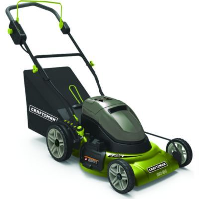 """[Sears]CRAFTSMAN/MD 20"""" Cordless 3-In-1 Electric Mower $161.96 free shipping http://www.lavahotdeals.com/ca/cheap/searscraftsman-md-20-cordless-3-1-electric-mower/117462"""