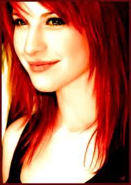 hayley williams (inspiratie om mij haar rood te verfen) thank you!