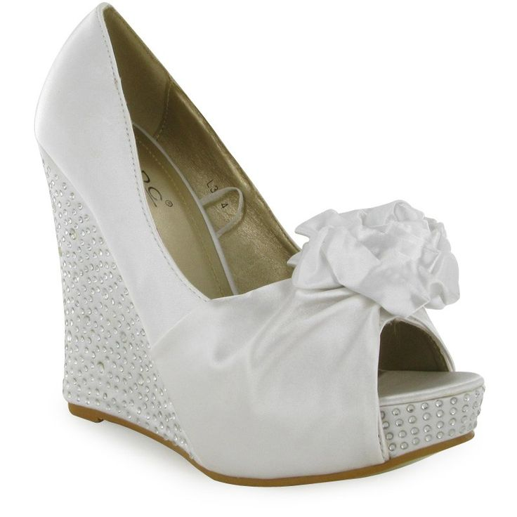 The Classic And Comfortable Of All Bridal Shoes Wedding Beauty