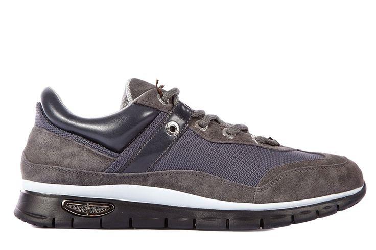 Frmoda.com - 4US Cesare Paciotti Men's shoes suede trainers sneakers new
