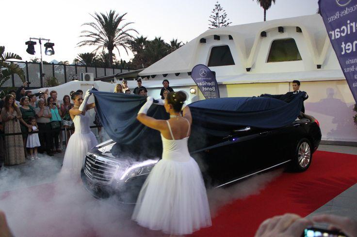 Club La Cabane convertido en un ballet clásico para la presentación del nuevo Mercedes clase S 2013