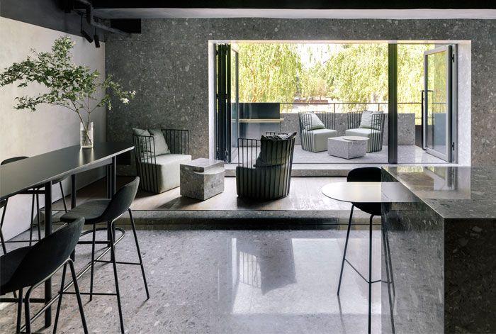 Luxury Restaurant Decor With Minimalist Furniture By Mddm Studio