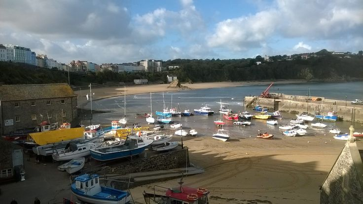 ~ Tenby Harbour in the autumn sunshine ~ Pembrokeshire ~ Wales ~ UK ~