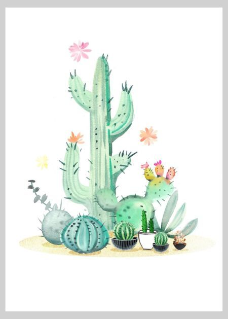 Cactus 3 Copy - By: Victoria Nelson