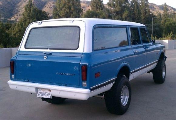 Monster Charisma: 1972 Chevrolet Suburban CK2500 | Vintage ...