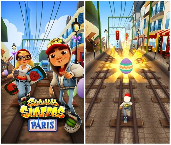 Subway Surfers Game Updated With Paris City Content In Windows ...