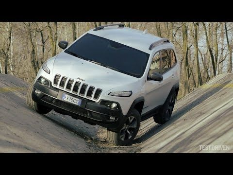 2014 Jeep Cherokee Trailhawk Off-road Test Ground - YouTube