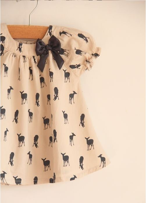 Oh dear, this deer shirt is way too precious!! @Paige Hereford Hereford Cahoon