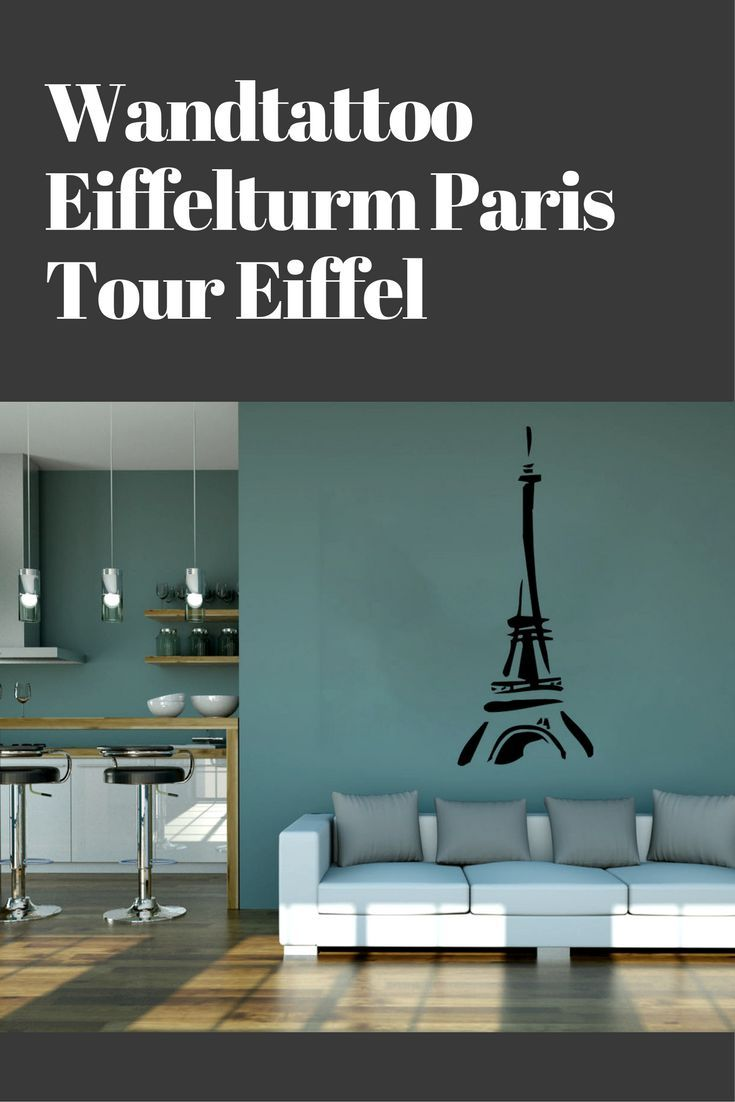 Wandtattoo Queen Wandtattoo Eiffelturm Tour Eiffel Wanderlust Home Decor Zen