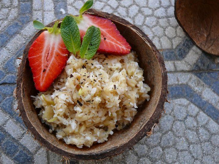 Zabkása vagy tejberizs helyett egy finom édes reggeli. :)