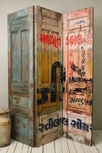 Riciclare vecchie porte in stile Shabby Chic e non solo! 22 idee davvero bellissime…